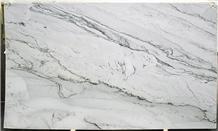 New Arrival 3cm Infinity White Quartzite Slabs