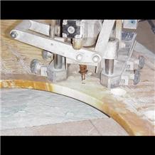 Giallo Siena Marble Kitchen Countertop