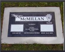 Granite Slant Grave Stone