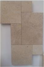 Seashell Limestone Versailles Pattern