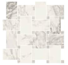 Trumari Arabescato Marble Maxi Mosaic