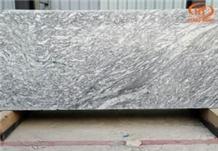White Granite Stone with Wood Grain, White Wood Grain Granite Slabs