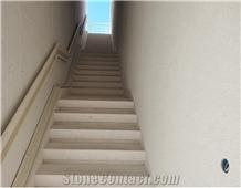 Crema Giulia Limestone for Floors and Stairs