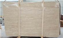 Cream Travertine Slabs & Tiles