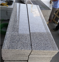 Chinese Grey Color Granite G602 Flooring Stairs