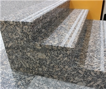 Chinese New Royal Leopard Granite Stair & Polished