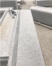 G633 Chinese White Granite Paving Stairs