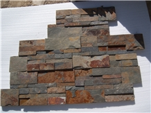 Rusty Color Cultured Stone Veneer Panel Prices