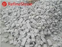 Cheap Beige Tumble Driveway Paving Cube Stone