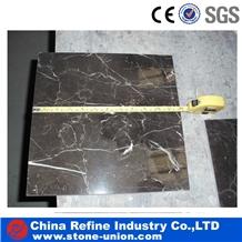 Cheap Chinese Emperador Dark Marble Cutting Tiles