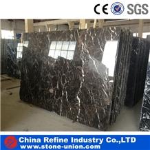 Chinese Dark Emperador Brown Marble Stone Tiles