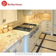 Cream Yellow Granite Countertops & Granite Tops