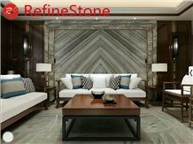 Hot Sale Bookmatch Marble Wall Background