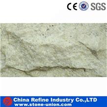 Light Yellow Quartzite Mushroom Stone