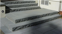 Shandong Blue Stone Patio Pavers, Exterior Pattern