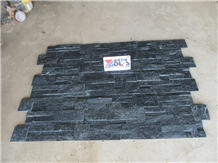 Charcoal Black Quartz Cultured Stone Veneer