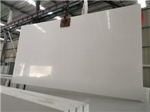 Guangdong Pure White Quartz Big Slabs