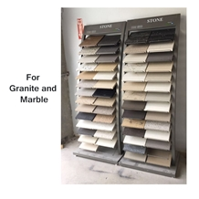 Metal Granite and Marble Display Rack