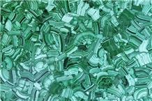 Bathroom Natural Marble Slab Green Malachite Stone
