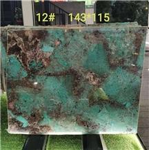 Brazil Amazon Green Quartzite Polished Slabs