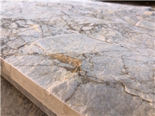 Calacatta Gold Marble Split Face Wall Stone