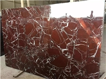 Rosso Levanto Red Marble Tiles