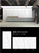 White Marble Porcelain Tile Sintered Stone Slabs