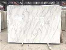 China East White Marble Slab,Similar to Carrara