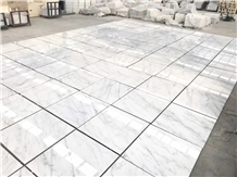 Eastern White Marble Floor Tiles Panel, China Carr
