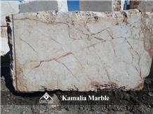 Kamelia Marble Blocks, Cream and Brown Marble Blocks