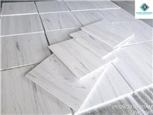 Elegant Milky White Marble Flooring