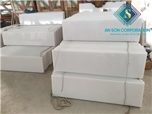 High Quality White Marble Steps and Risers