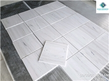 Natural Milky White Marble Tiles