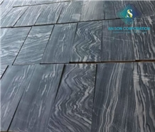 Polishing Tiger Veins Marble Tiles