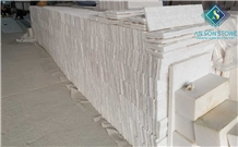 White Marble Z Type Wall Panel for Cladding Stone