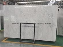 Super White Quartzite Honed Slab Walling Covering