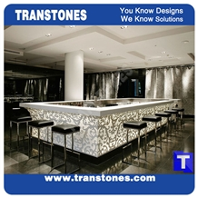 Artificial Marble Bar Tops,Reception Desk