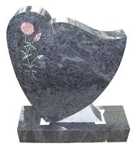 Flower Tree Carving Monument,Gravestone, Headstone