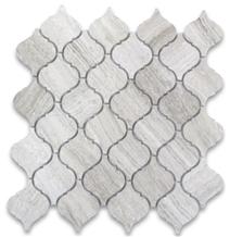 Marble Lantern Shaped Arabesque Floor&Wall Mosaic