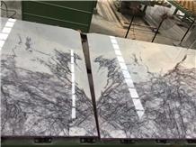 New York Marble White Slab Floor & Wall Tile