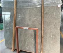 China Dora Cloud Grey Marble Tile Slab Floor Wall