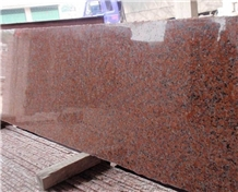 China Maple Red Granite G562 Slabs Tiles Floor