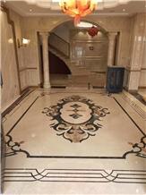 Iran New Crema Diva Beige Marble Polished