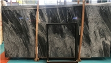 Italy Florence Grey Marble Slab Tile Flooring Wall