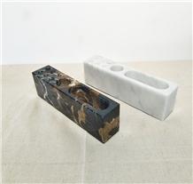 Marble Pen Holder Mobile Holder Home Interior