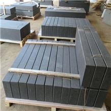 Natural Black Basalt Slabs for Landscaping Tiles