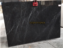 Nero Persia Black Marble Slabs