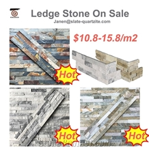 2021 Split Slate Ledge Culture Stacked Stone Veneer