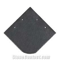 Natural Black Square Slate Roofing