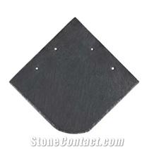 Natural Black Square Slate Roofing